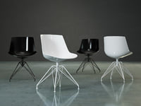 flow chair 4-legged lem 3D model