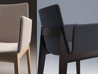 ava armchair 3D model