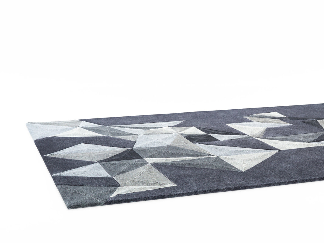 pliages rug model