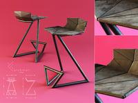 z-chair n 3D model