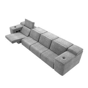 sofa cineak strato seating 3D model