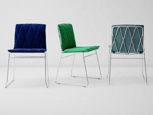 seb dining chair 3D model