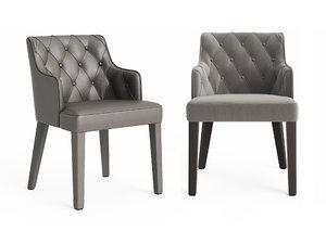 royale capitone chair 3D model