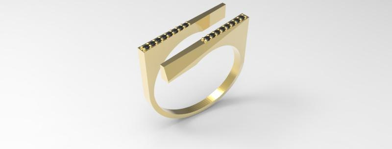 ring diamond unique model