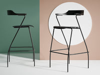 3D project bar chair model