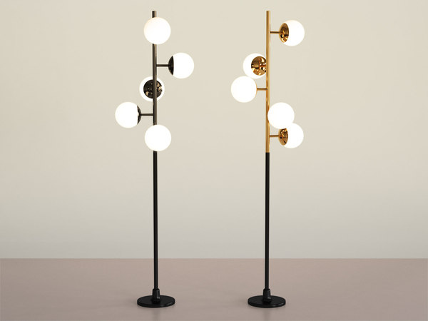 cherries floor lamp 3D