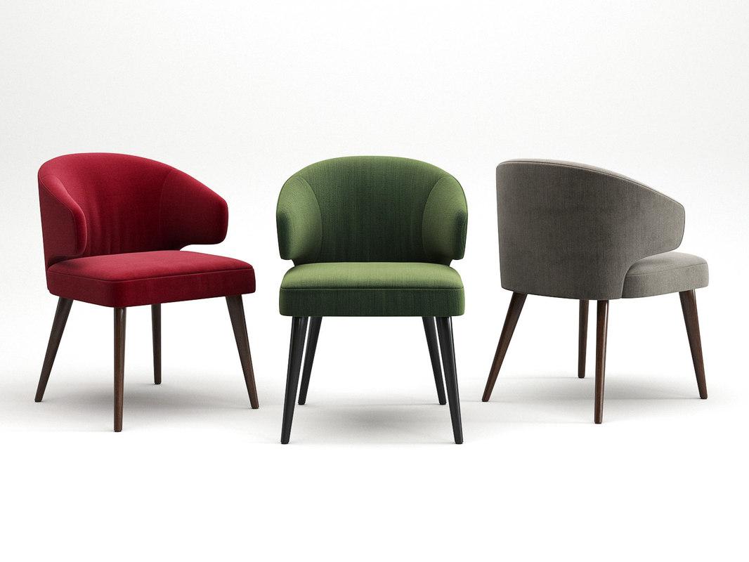 3D aston dining armchair
