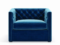 Mercer Tufted Club Chair