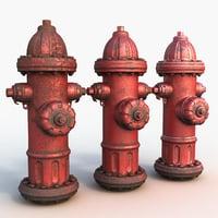 3D ready hydrant model