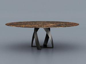 bon table 3D model