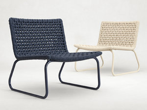 marina lounge chair 3D model