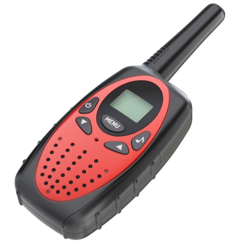 talkie walkie 3D model