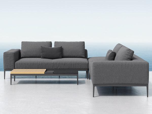 3D model grid lounge c