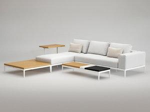 3D grid lounge