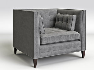 clancy chair 3D model