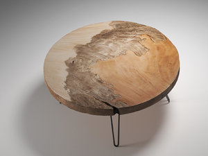 3D mudita coffee table model
