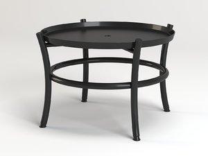 smeralda coffee table model