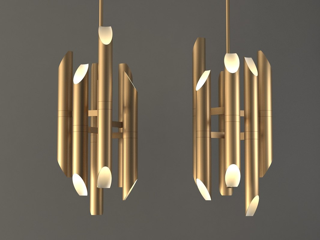 shard pendant lamp 3D