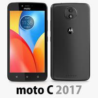 Motorola Moto C 2017 Black