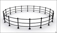 3D fence circular
