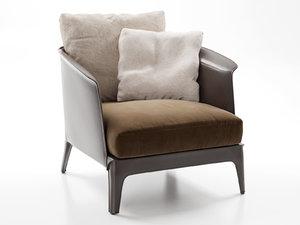 3D isabel armchair xl