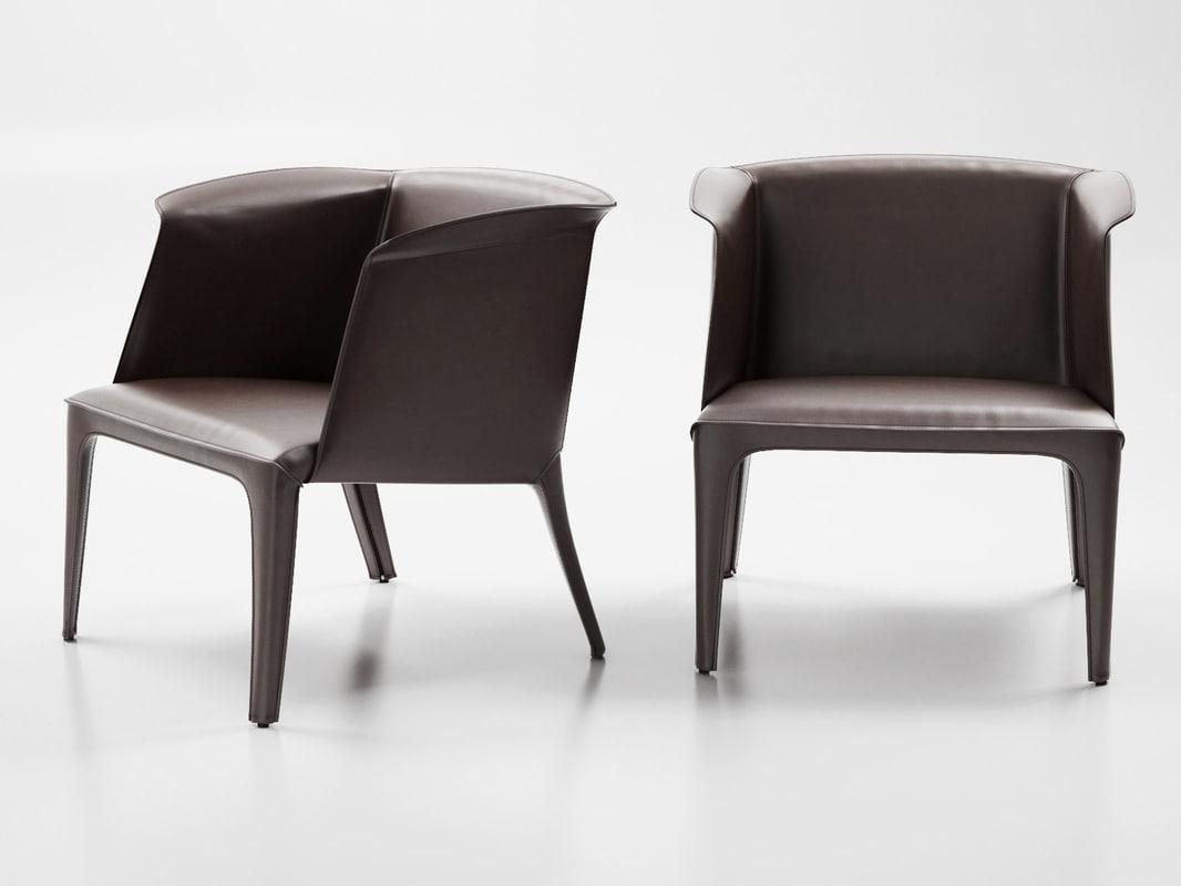isabel armchair l 3D model