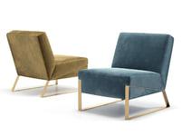 3D ellis lounge