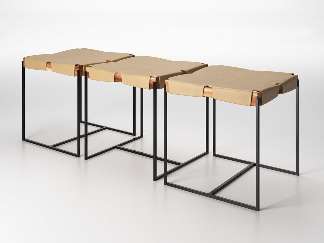 3D katinsky bench model