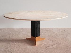 3D model dining table n
