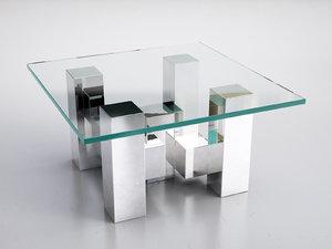 cityscape coctail table 3D model