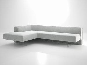 kagan omnibus sofa n 3D model