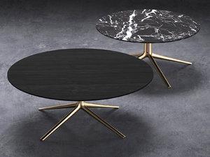 mondrian small tables 3D model