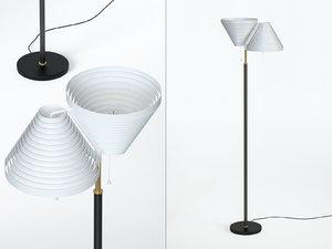 floor light a810 3D model