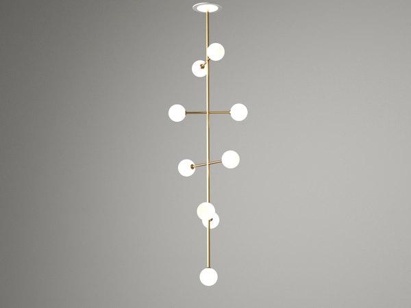 epic 2 pendant lamp 3D model