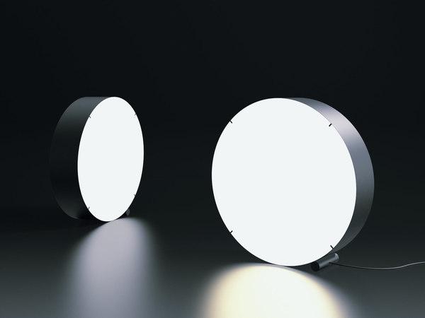 3D floor lamp model