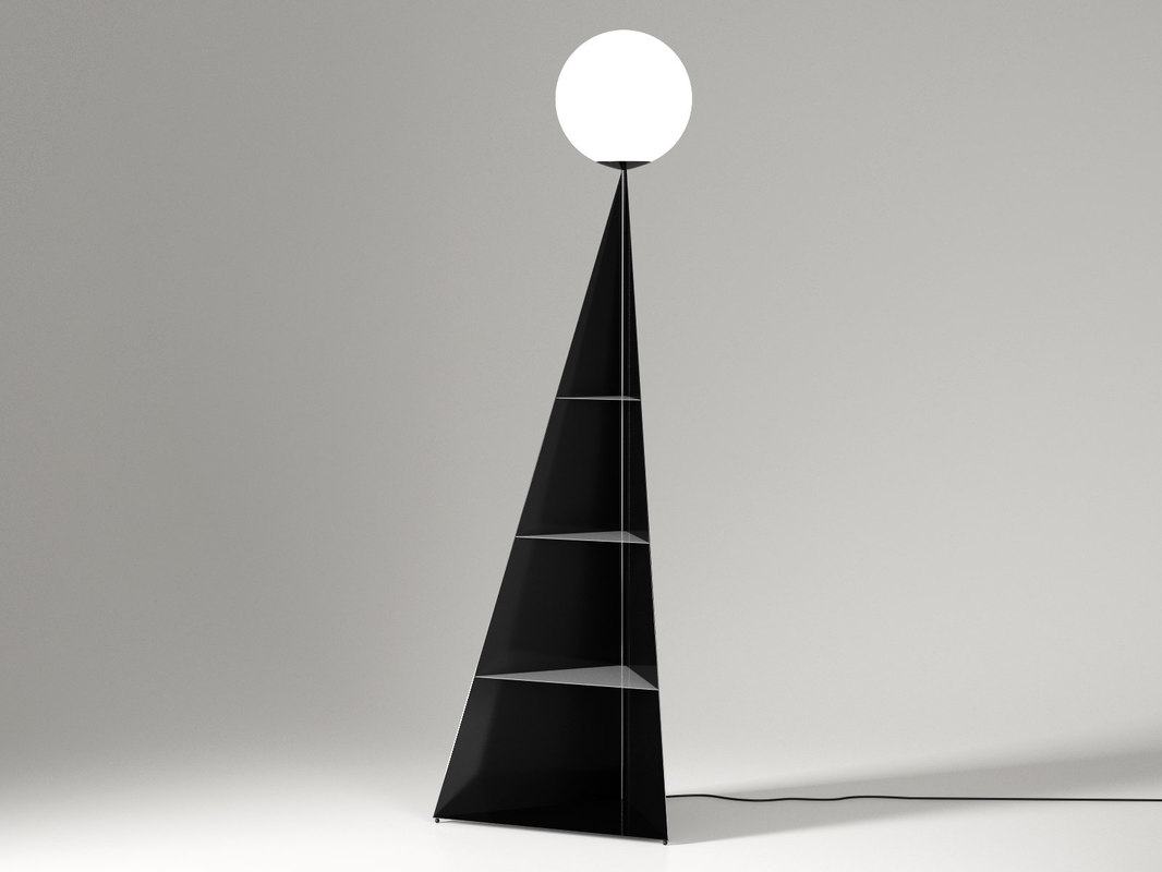 bonhomme floor lamp 3D