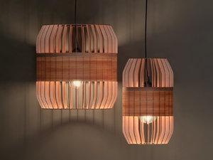 3D lath pendant lamp