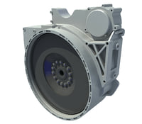 engine flywheel 3D model