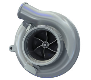 engine turbo 3D
