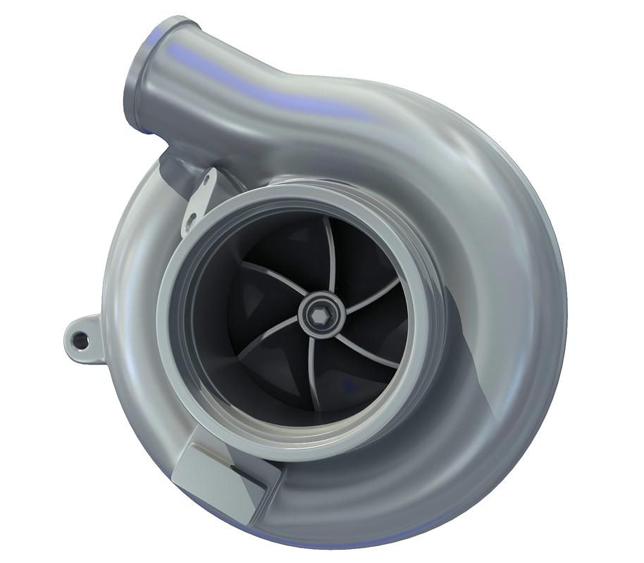 engine turbo 3D