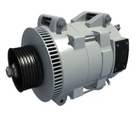 3D engine alternator