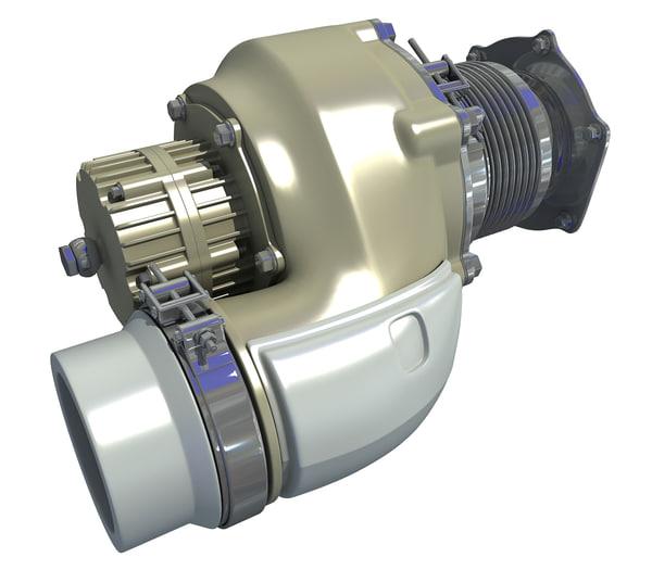 engine auto parts 3D model