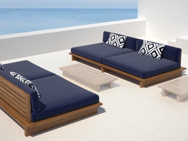 maldives sofa 229 3D model