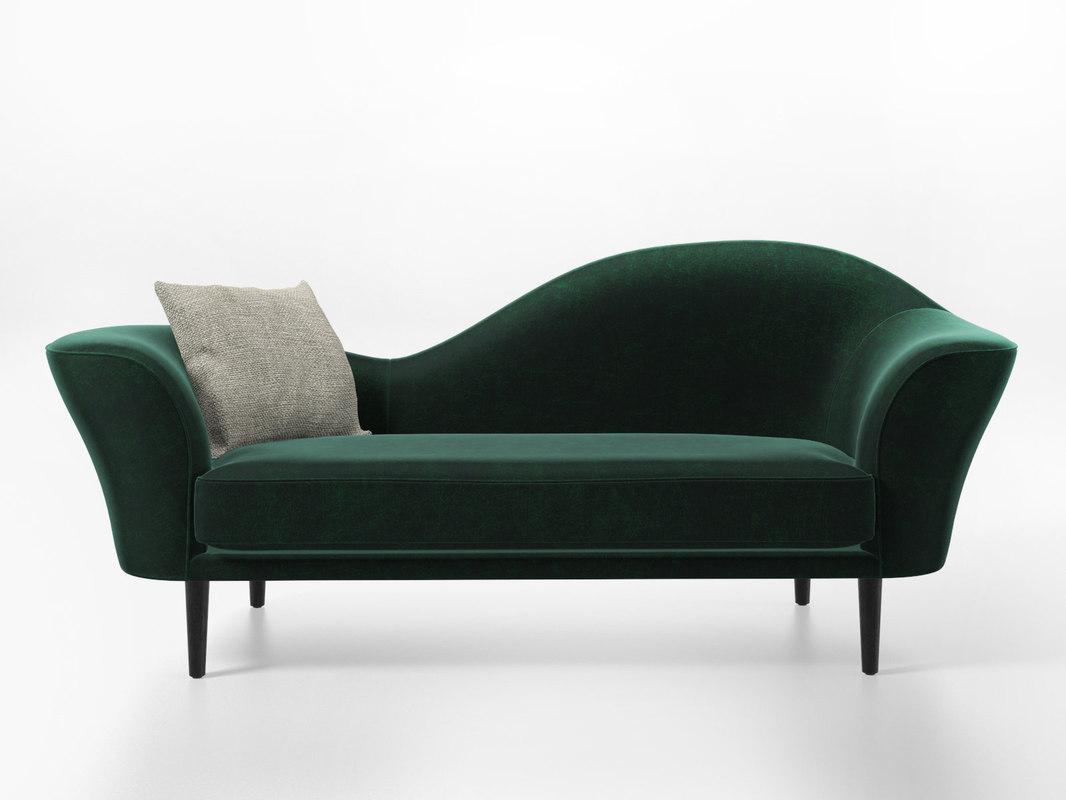 3D grand piano sofa model