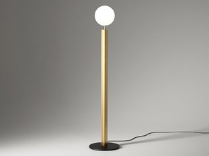 column floor lamp model
