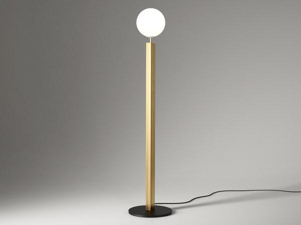 column floor lamp model
