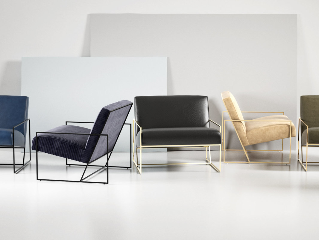 Swell Fauteuil Lounge A Cadre Fin Inzonedesignstudio Interior Chair Design Inzonedesignstudiocom