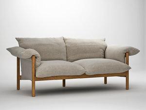 3D wilfred sofa 184 model