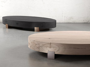 3D beam coffee table - model