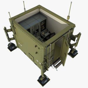 ground control station uavs 3D model